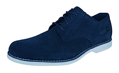 Chaussures Bradstreet PT Oxford bleu: grande taille du 46 au 50