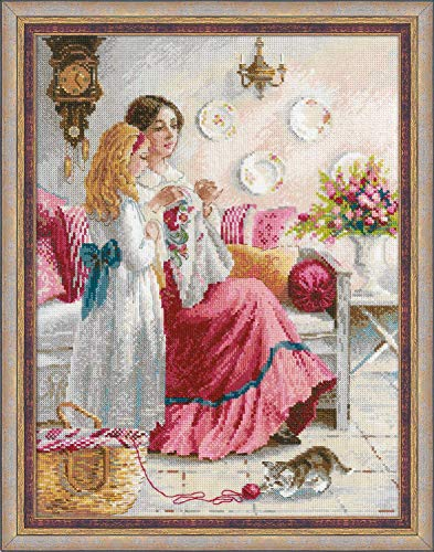RIOLIS 1789 - Stitiching Lessons - Counted Cross Stitch Kit 11¾