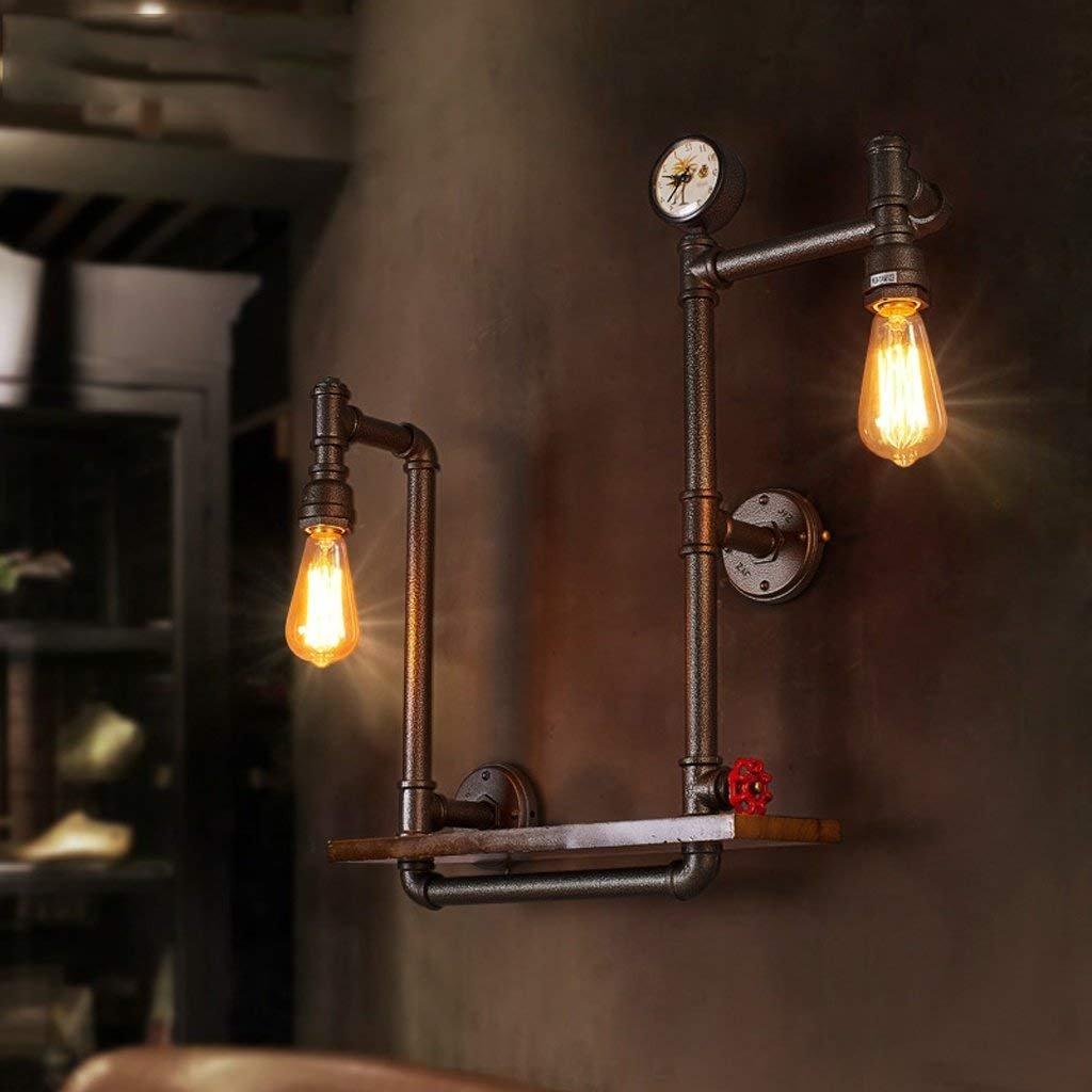 CN Wandleuchte Loft Retro Industrial Light Gang Dekoriert Balkon Lampe American Restaurant Bar Eisen Wandleuchte B07JMMRFPR | Schön In Der Farbe