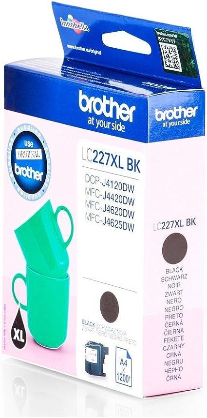 Brother LC-227XLBK Cartucho de Tinta - Cartucho de Tinta para ...