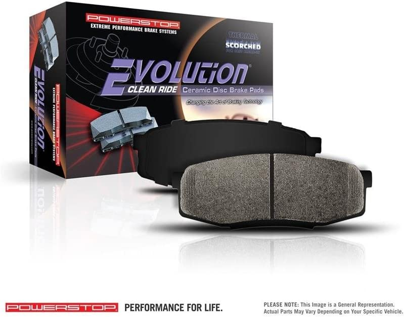Disc Brake Pad Set-Z16 Evolution Clean Ride Ceramic Brake Pads Front Power Stop