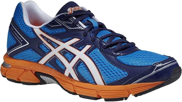 Asics Gel Pursuit 2 - Zapatillas de Running para Hombre, Color Azul (Blue/White/Flash Orange), Talla 40: Amazon.es: Zapatos y complementos