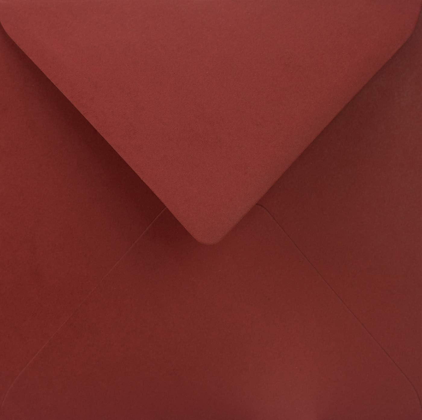 25 Dunkel-Blau quadratische Briefumschl/äge ohne Fenster Spitzklappe 153x153 mm 115g Sirio Color Dark Blue farbige Umschl/äge quadratisch Brief-Kuverts bunt f/ür Hochzeit Geburtstag Taufe Weihnachten