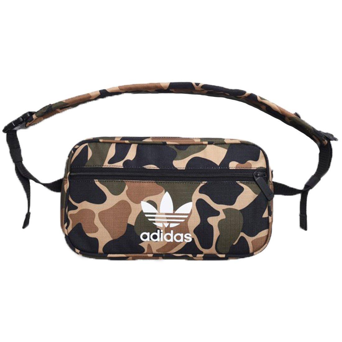 adidas Camo Print Herren Waist Bag Grü n Mehrfarbig (Multco) 17x15x25 Centimeters CD6132