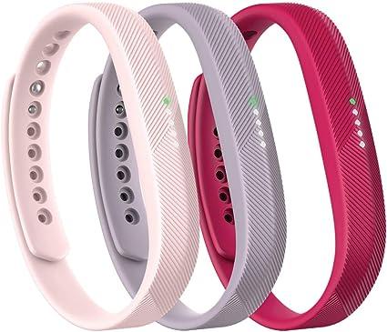 Smartwatch Fitness Armband rosa für FitBit Flex 2