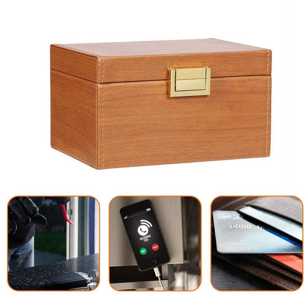 voloki Caja de Faraday, Caja de Bloqueo de señal de Llave de Coche, Caja de Almacenamiento Grande antirrobo de Seguridad de Coches sin Llave RFID Tremendous: Amazon.es: Hogar