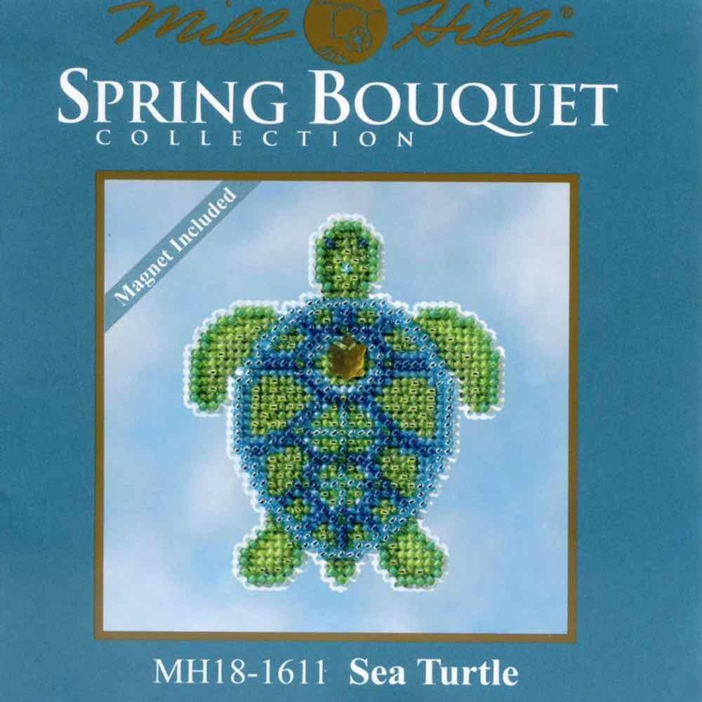 Sea Turtle Bathroom Accessories Amazoncom Sea Turtle Beaded Counted Cross Stitch Ornament Kit
