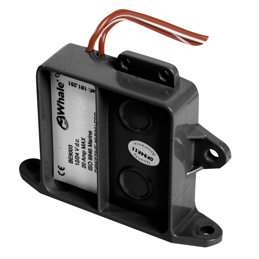 Whale Marine Whale Electric Field Bilge Switch With Time Delay BE9006