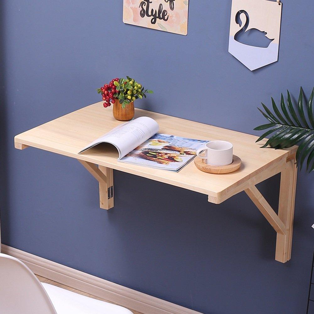 マチョン コンピュータデスク 折り畳みテーブル壁掛け落葉テーブル (サイズ さいず : 80cm*60cm) B07DZS19Q6 80cm*60cm 80cm*60cm