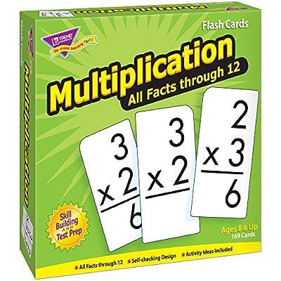 Multiplication 0-12 All Facts Skill Drill Flash Cards