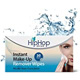 HipHop Instant Make Up Remover Wipes, 30 wipes (Pack of 2)