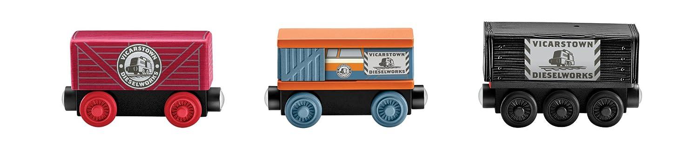 Diesels n Disguise Diesels /'n Disguise Fisher Price DFW82 Fisher-Price Thomas /& Friends Wooden Railway