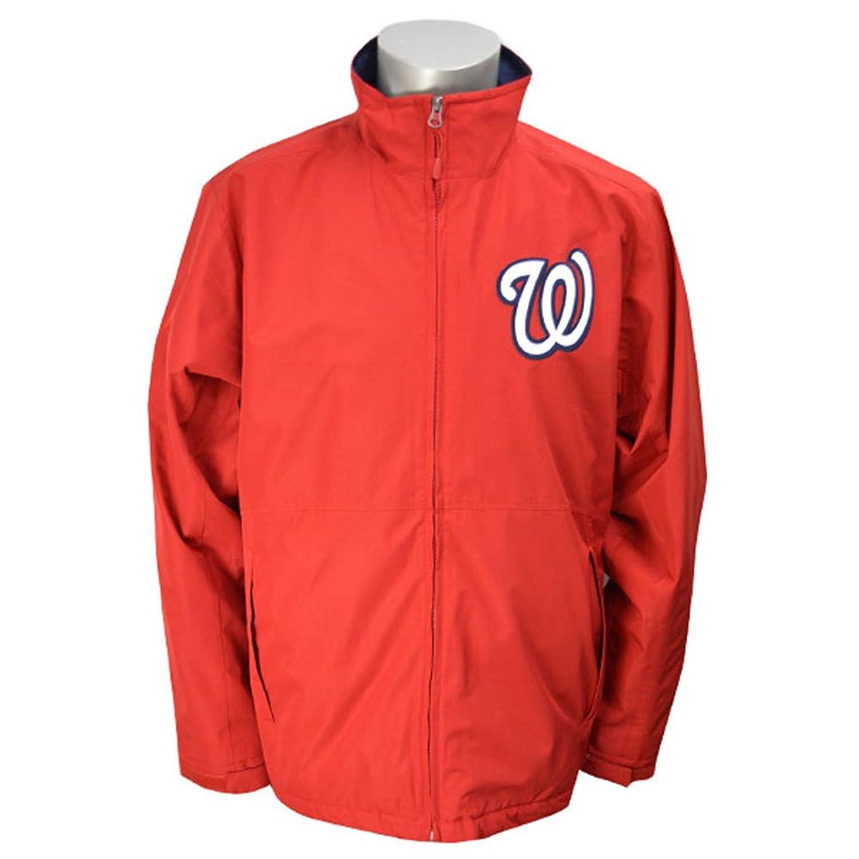 Majestic(マジェスティック) MLB ワシントンナショナルズ Authentic Wind ジャケット (レッド) B00QM5XHWAXL