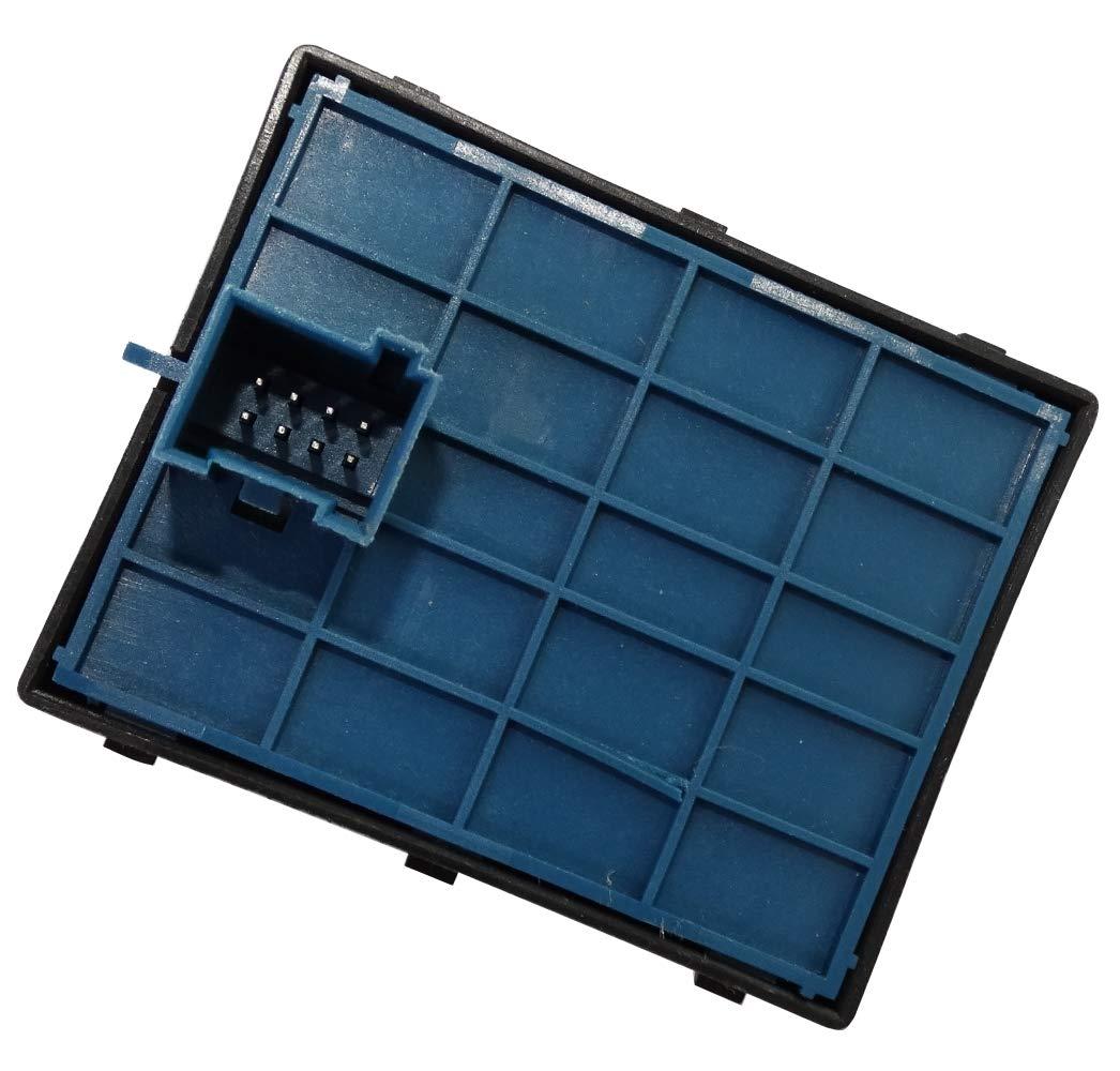 Interruttore a pulsante per funzione alzacristalli elettrico C40911 compatibile con 735461275 AERZETIX
