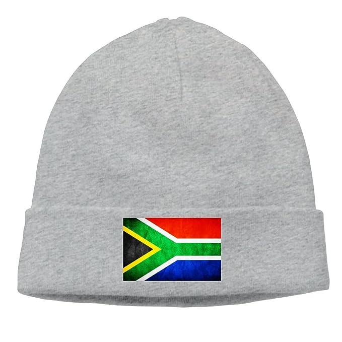 Amazon.com  Flag of South Africa Beanie Hat Stars Fashion Unisex Skull  Cap.  Clothing cbbc36fdfe0