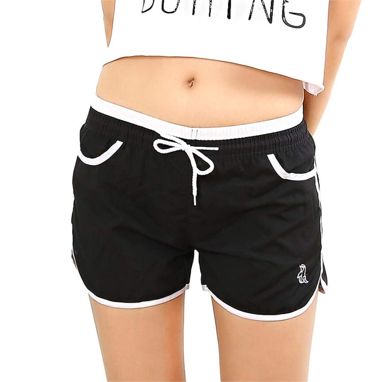 Summer Swim Yoga Fitness Board Beach Shorts Causal Pants for Women Hot Spring Short De Brain Homme Fast D
