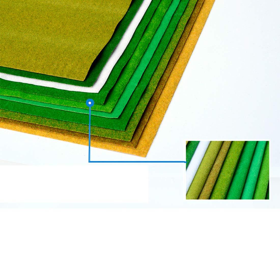 100 x 41 cm LOSGO Grasmatte Modellbau Gras Matte Deko Kunstrasen Grasmatte Wiese Miniatur Garten Deko