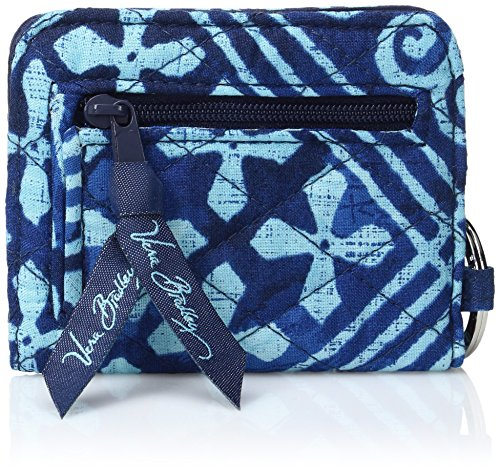 Vera Bradley Womens' Campus Double ID Holder, Cuban Tiles, One Size