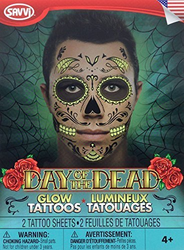 Day Of The Dead Glow In The Dark