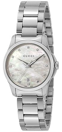 c723d882585a [グッチ]GUCCI 腕時計 Gタイムレス ホワイト文字盤 YA126542 レディース [並行輸入品