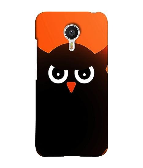 lowest price b2c89 58e55 Meizu M3 Note, Meizu Note 3 Back Cover Owl Icon Design: Amazon.in ...