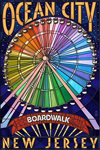 Ocean City, New Jersey - Boardwalk Ferris Wheel