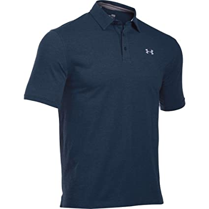 18b6ded546ab1 Under Armour Men s Charged Cotton Scramble Polo, Academy  Academy, Small