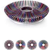 Clearance Sale-Shatter Proof Fruit Tray Platter DIY - Tough Plastic Fruit Bowl - Make Beautiful Fruit Arrangements - Multi-color Fruit Trays Fruit Plate for Parties, Weddings, Baby Showers-No Box