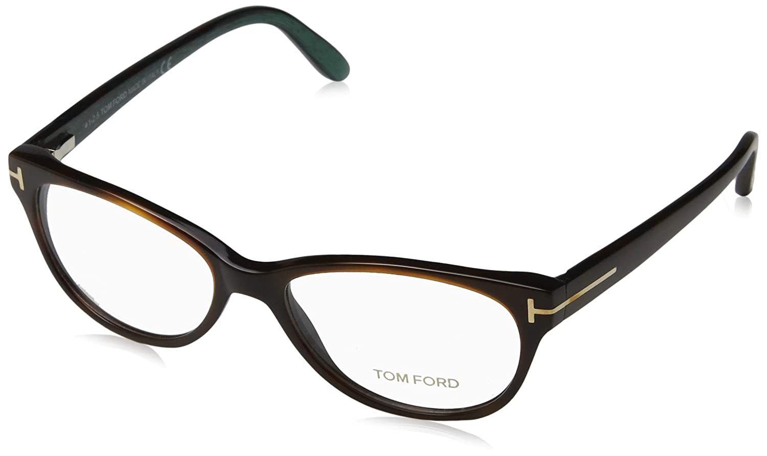 5b3d085ab2 TOM FORD Eyeglasses FT5292 052 Dark Havana 53MM at Amazon Men s Clothing  store