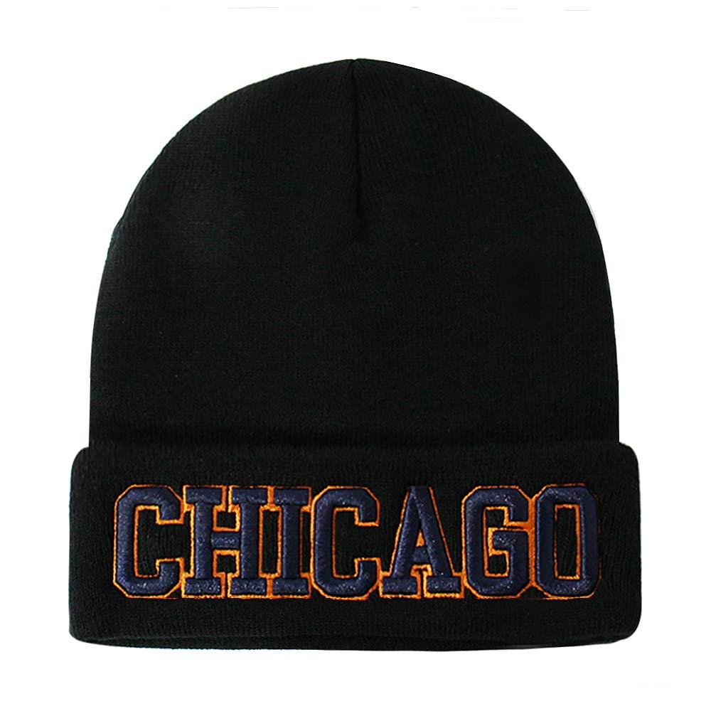 db4ec5d0732cb5 Classic Cuff Beanie Hat - Black Cuffed Football Winter Skully Hat Knit  Toque Cap product image