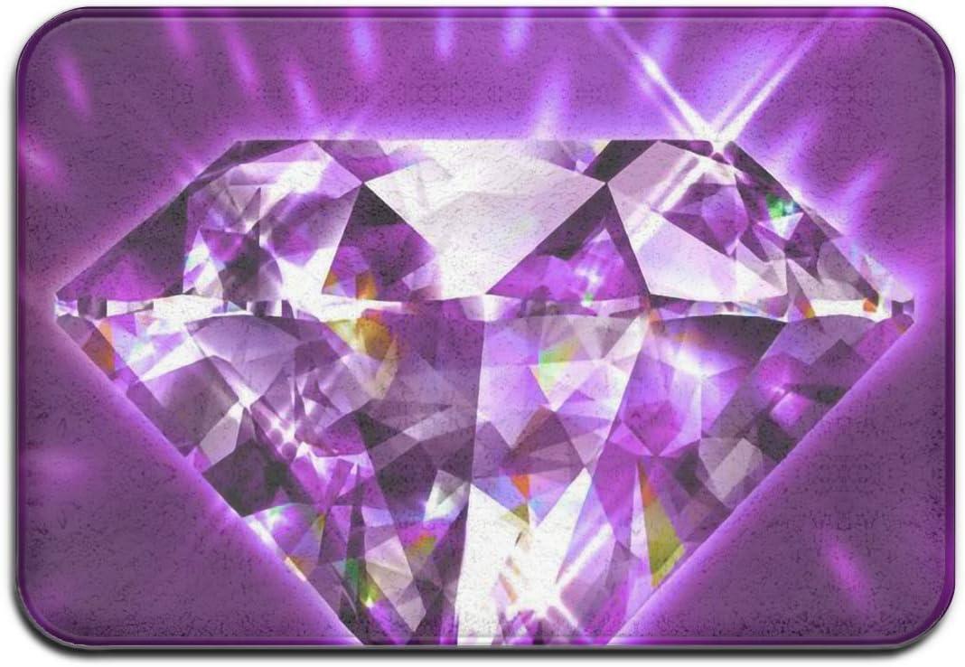 Not Applicable Alfombra de Entrada, Piedras Preciosas, Diamantes, Joyas, Felpudo, Muebles, felpudos, 50x80cm