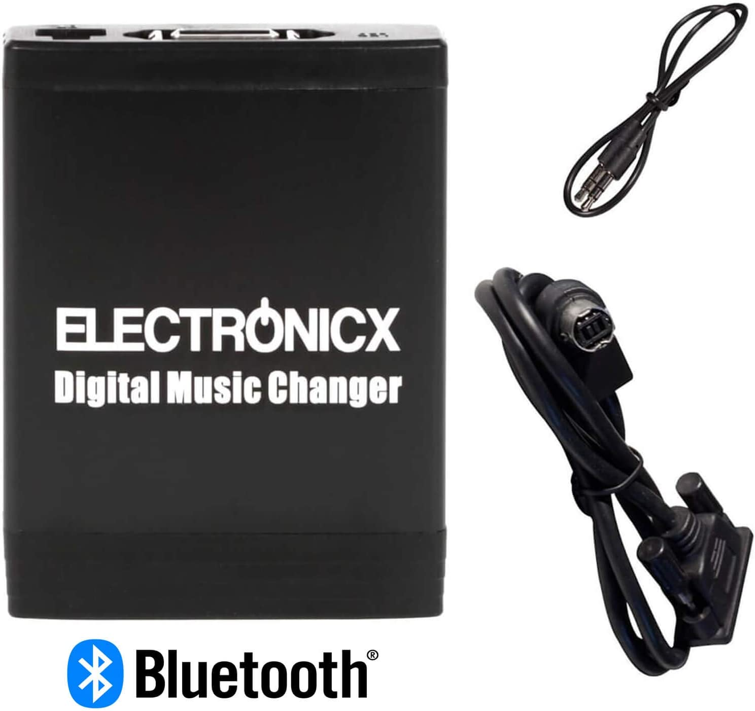 Electronicx Elec-M06-AI-NET-BT Adaptador Musica para Coche USB, SD MP3 AUX Bluetooth Kit Manos Libres para Alpine AI-Net