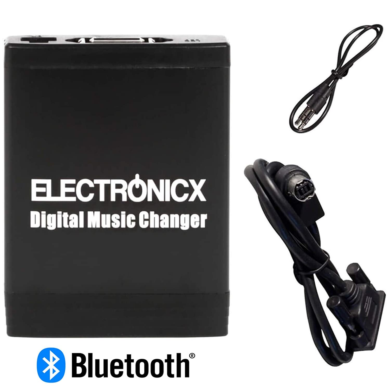 Electronicx® Adaptador de radio para coche USB SD AUX MP3 CD para Alpine modelo con AUX manos libres bluetoooth: Amazon.es: Electrónica