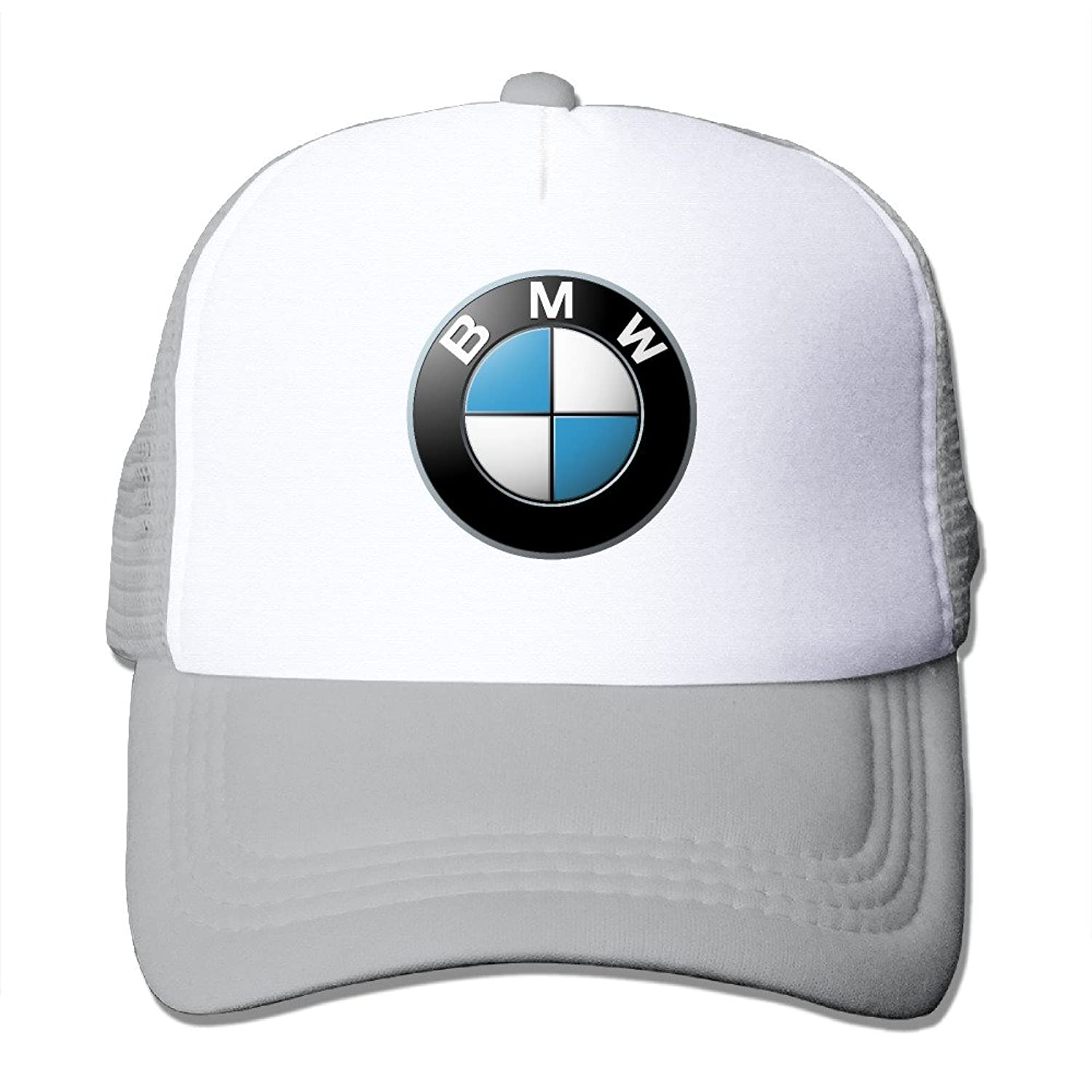 WuliNN BMW Mesh Trucker Hat Outdoor Adjustable Baseball Cap For Unisex