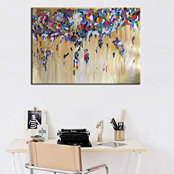 Amazon.com: DADABOX Hand Painted Oil Painting Home Decor ...