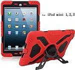 Y&M(TM) iPad Mini Case for Kids,Y&M Extreme Military Heavy Duty Waterproof