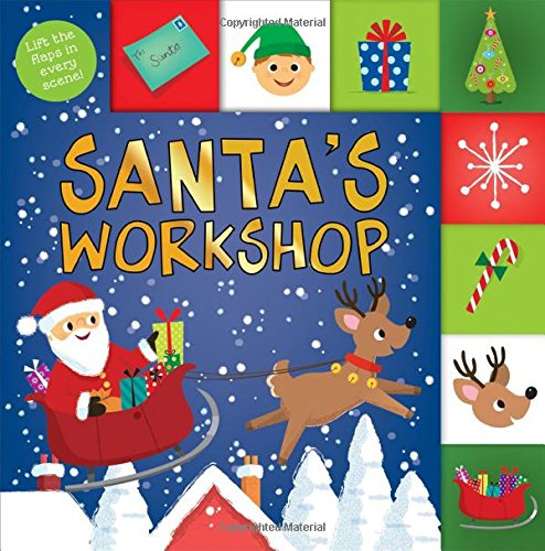 Lift-the-Flap Tab: Santa's Workshop (Lift-the-Flap Tab Books)