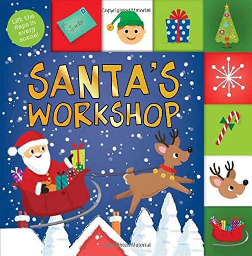 Lift-the-Flap Tab: Santa's Workshop (Lift-the-Flap Tab Books)