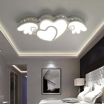 YANGFEIFEI Bürodeckenleuchten Kreativ Herzförmige Prinzessin Zimmer ...