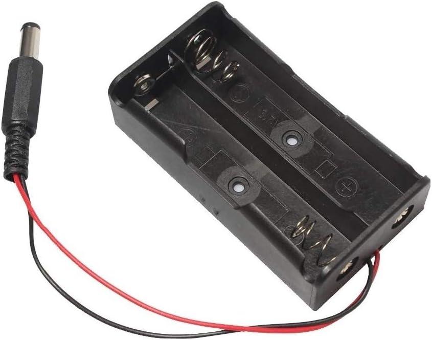 HAYATEC - Caja de Soporte para batería 18650 con Interruptor de ...
