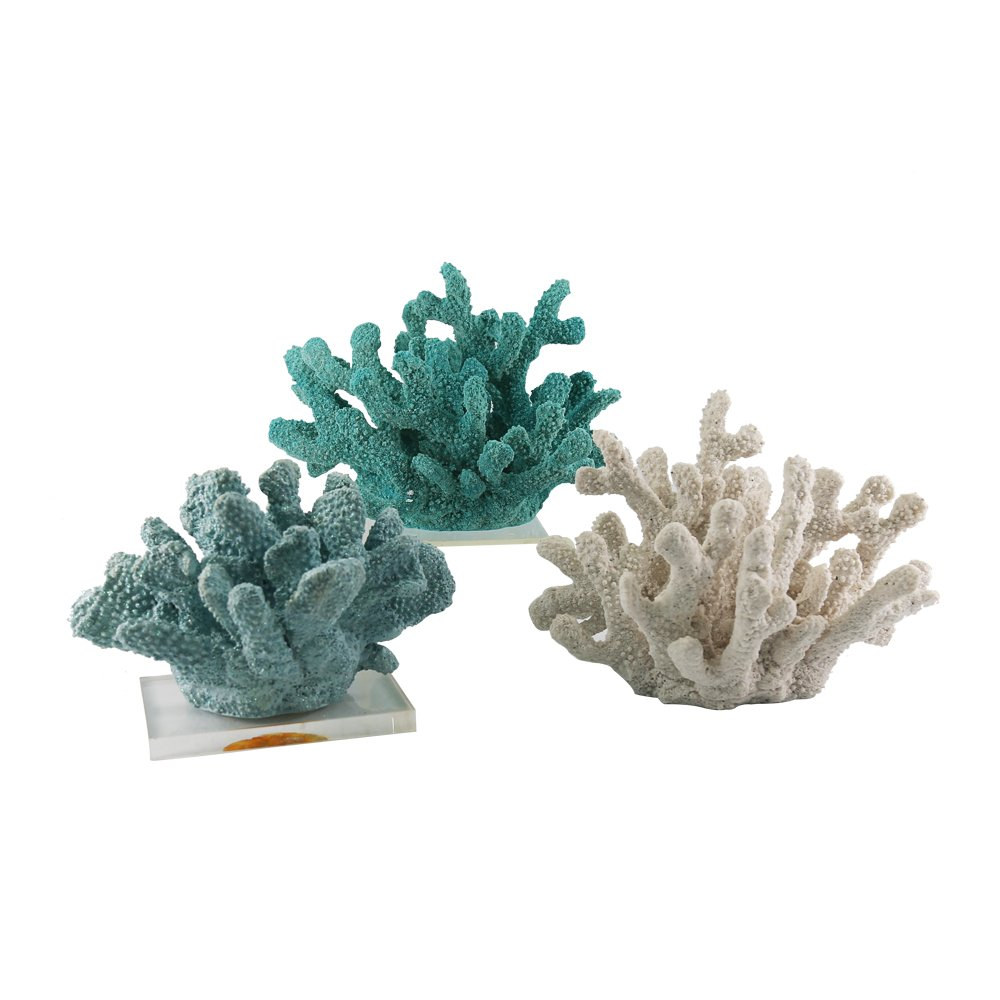 JYSPT Adorno de coral de resina de gran tamaño para decoración de acuario, acuario, pecera, jardín, patio: Amazon.es: Productos para mascotas