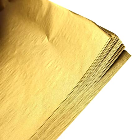 Antique Gold Tissue for New Year\u2019s Eve decoration Large Gold Tissue Paper Gold Metallic Tissue Paper Sheets Bulk Gold Tissue Paper