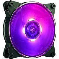 MasterFan Pro 120 Balance de Aire RGB - Ventilador Equilibrado de Aire de 120mm con Aspas Diseño Híbrido para Gabinete de PC, Disipador, y Enfriador