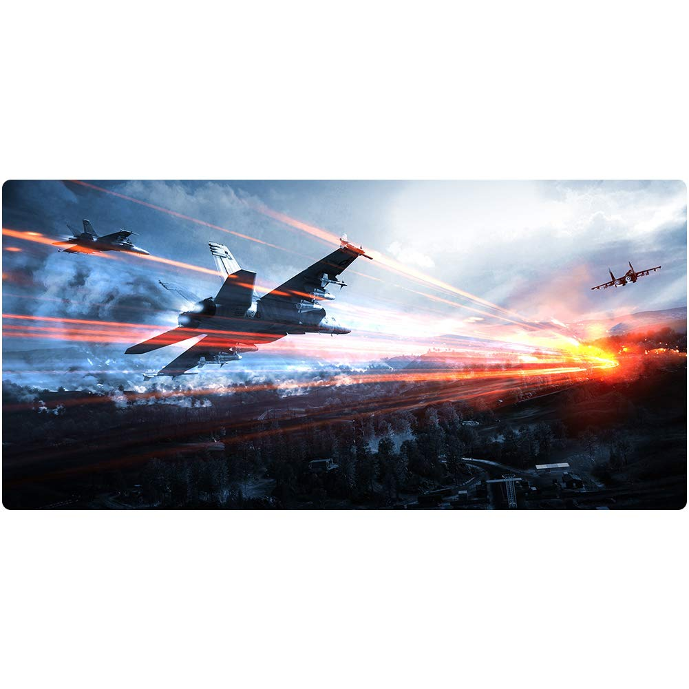 GQP Large Gaming Mouse pad (900x400) XXL Extended Gaming Mouse pad Waterproof Non-Slip Mouse pad for PC laptop-4-1000x500 by GQP