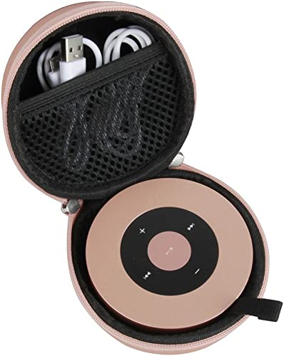 Hermitshell Hard Travel Case fits Bluetooth Speaker XLeader NUBWO Portable Speaker Rose Gold