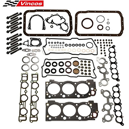 Vincos Cylinder Head Gasket Bolts kit Replacement For Toyota 3.4L V6 5VZFE 5VZ-FE 1995-2004