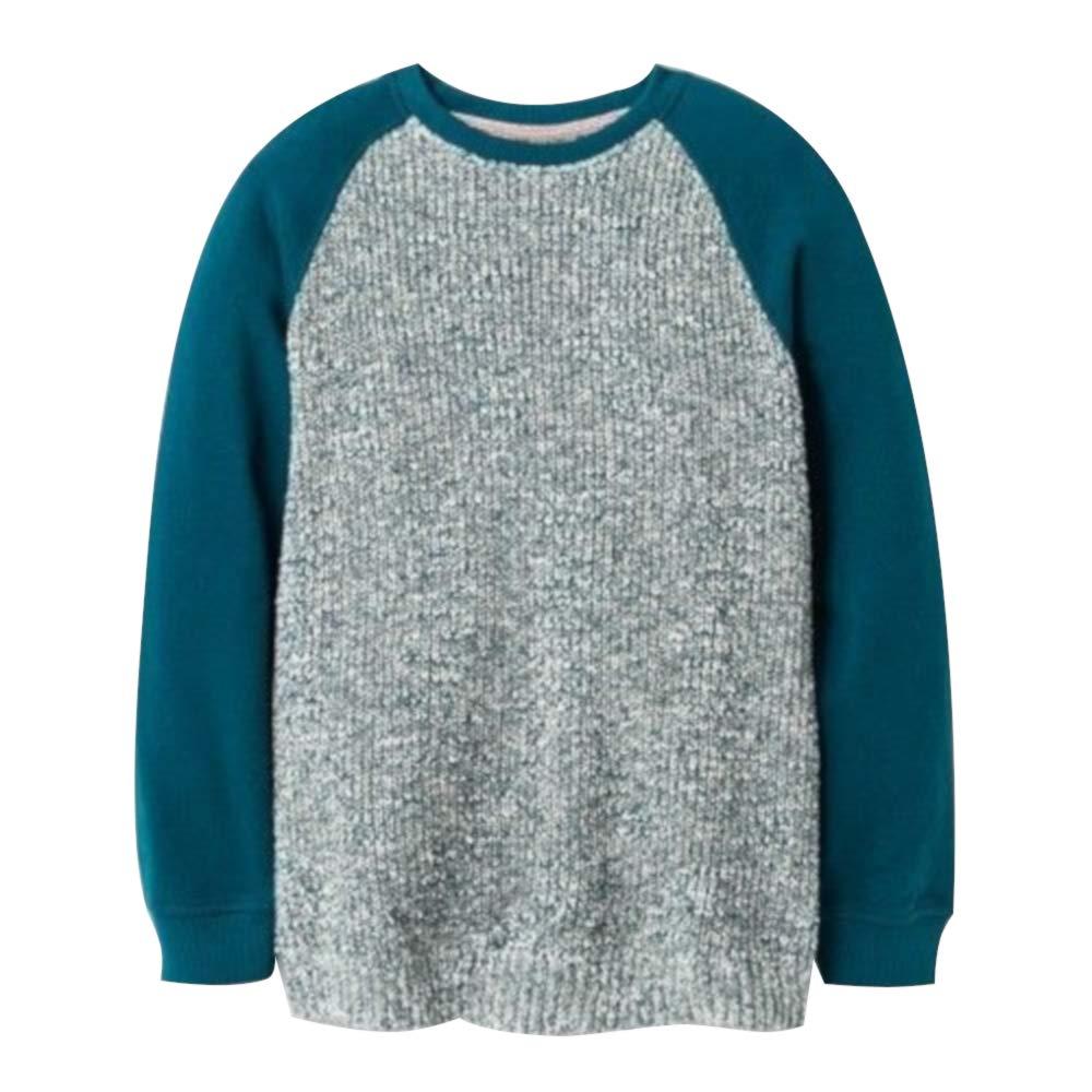 Blue Art Class Boys Raglan Pullover Sweater