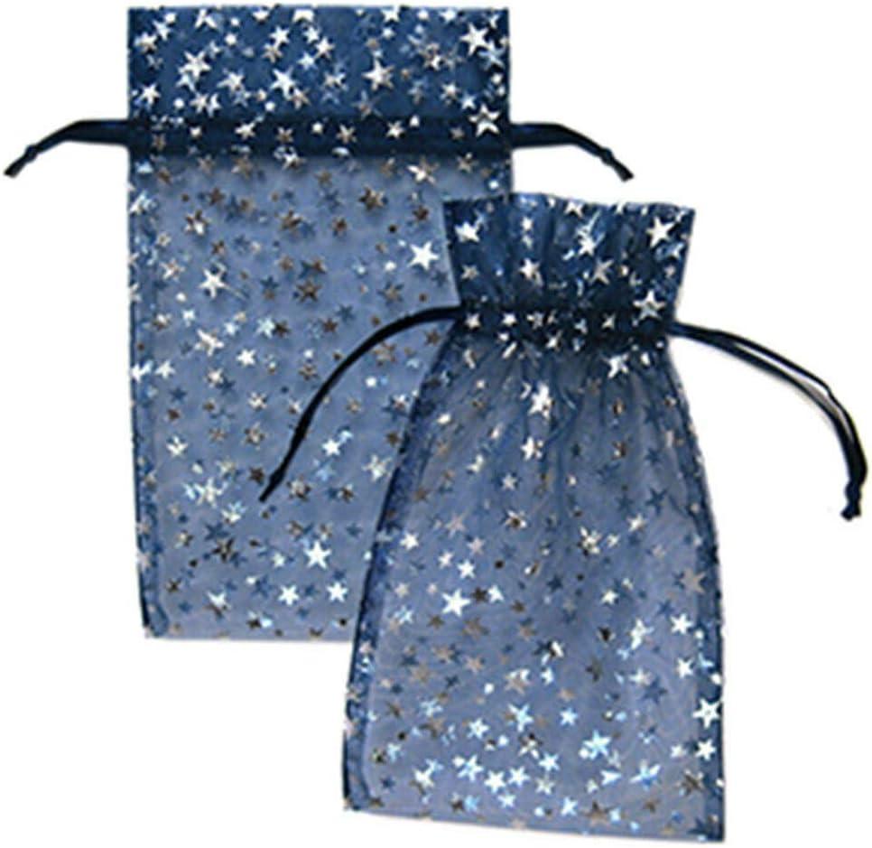 4BAGS Organza Gift Bags 5x7cm Colourcode12 Silver 25PCS//BAG