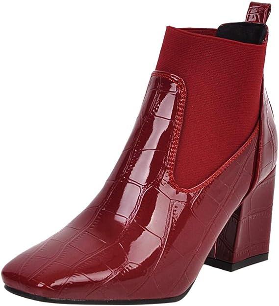 Luckycat Botas Zapatos Flip Flop Mujer Botines Tacones Altos