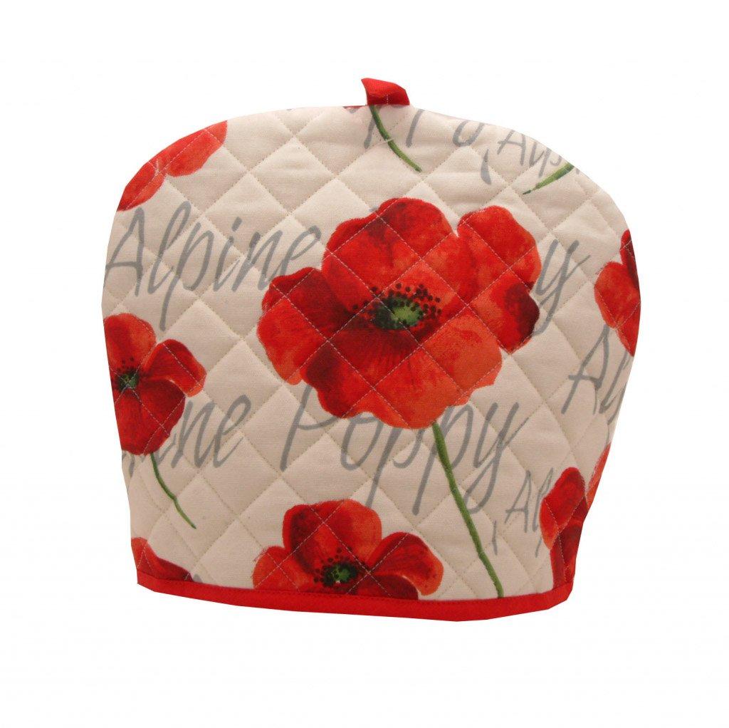 Rayware Alpine Poppy Tea Cosy White And Red Amazon Kitchen
